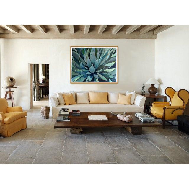 Agave Americana Acrylic Painting - Image 7 of 10
