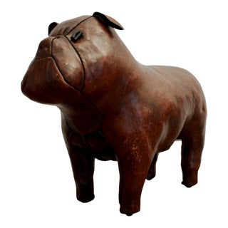 Abercrombie and Fitch Dimitri Omersa Leather Bulldog For Sale
