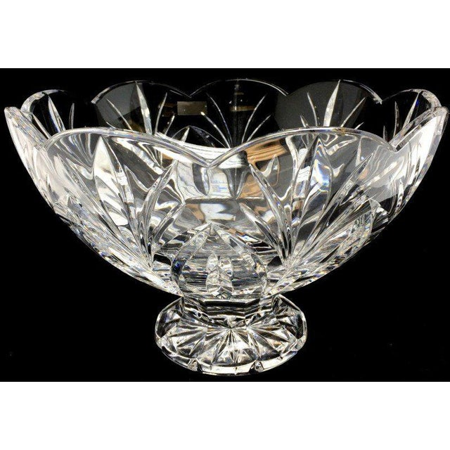 Crystal Bowl Marquis by Waterford Crystal Canterbury Pattern Bowl/Final Reduction For Sale - Image 10 of 10