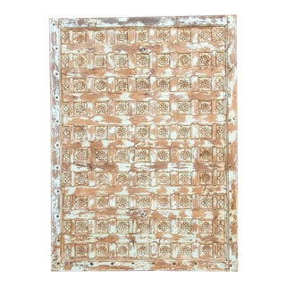 Verde Antique Gujrat Floral Ceiling Panel For Sale