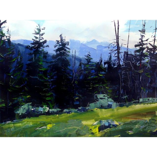 Holy Cross Wilderness, Colorado Painting by David Shingler - Image 1 of 2