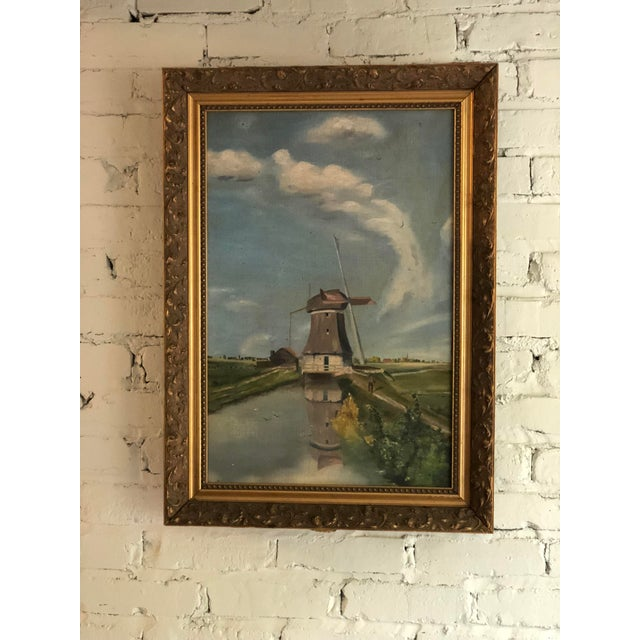 Art Deco Antique Continental Impressionist Oil Painting For Sale - Image 3 of 13
