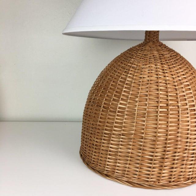 Contemporary Lauren Grant Design Original Basket Lamp For Sale - Image 3 of 5
