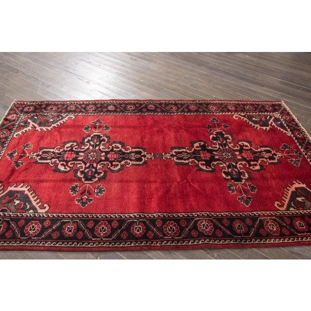 """Apadana - Vintage Persian Rug, 4'4"""" X 6'7"""" - Image 7 of 7"""