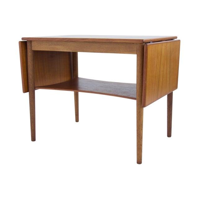 Borge Mogensen Drop Leaf Side Table - Image 1 of 6