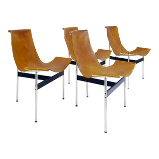 "Douglas Kelly, Ross Littell and William Katavolos ""T"" Chairs, Set of 4 For Sale"