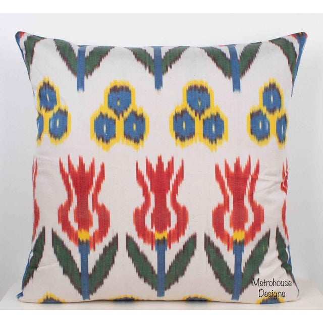 Silk Atlas Accent Throw Pillow Both sides have the very same fabric Pillow has a zipper for closure A high quality down...