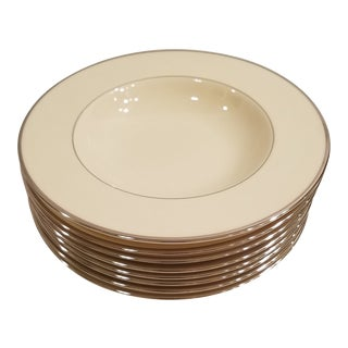 Lenox Montclair Soup Bowls - Set of 8 For Sale