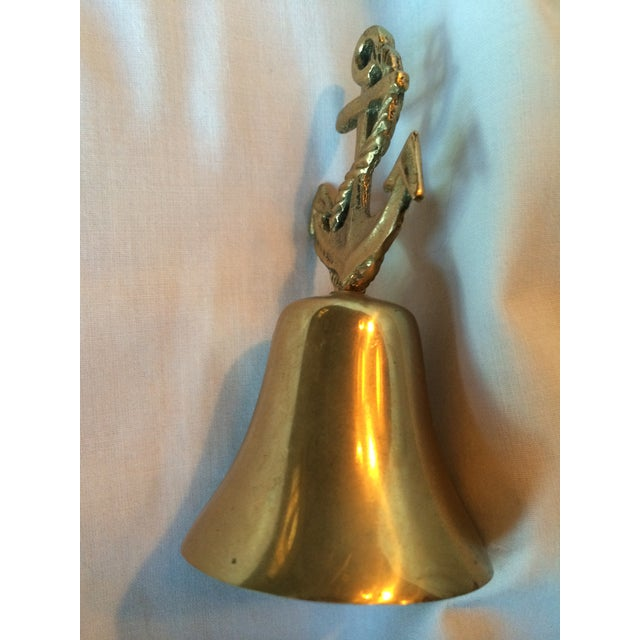 Nautical Brass Anchor Bell - Image 4 of 5
