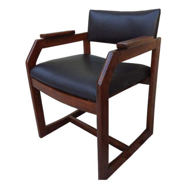 Zen Armchairs - Solid Rosewood - A Pair - Image 1 of 1