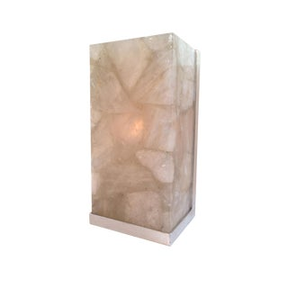 Rock Crystal Sconce For Sale