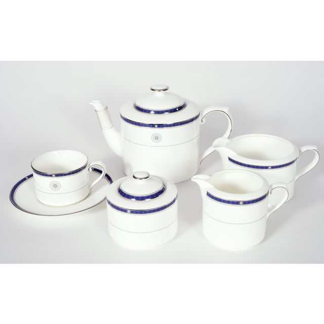 Ceramic Wedgwood English Porcelain Dinnerware Service for Ten People - 83 Piece Set For Sale - Image 7 of 13