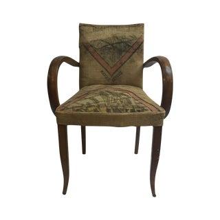 Vintage Grain Sacks Armchair