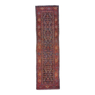 "Antique Persian Malayer Rug - 3'6"" X 10'8"""