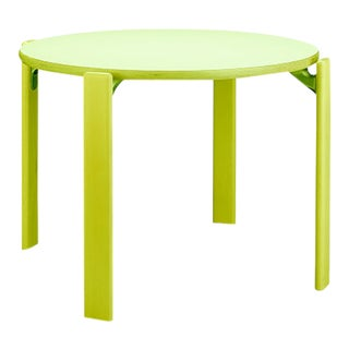 1971 Dietiker Rey Jr Table in Green - The Children Version of the Iconic Rey (Swiss Design) For Sale