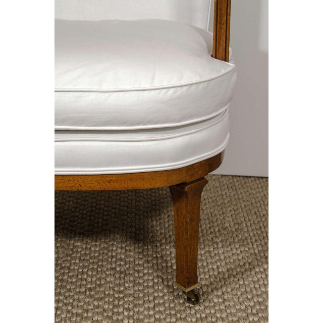 Vintage Barrel Back Chair - Image 3 of 7