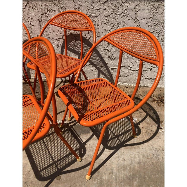 Mid-Century Modern 1960s Vintage Maurizio Tempestini for Salterini Hoop Seating Set- 6 Pieces For Sale - Image 3 of 8