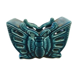 Butterfly Porcelain Business Card Holder For Sale