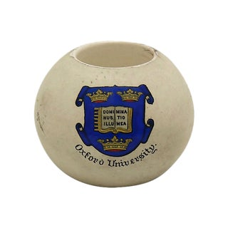 Antique Oxford University Match / Toothpick Holder For Sale