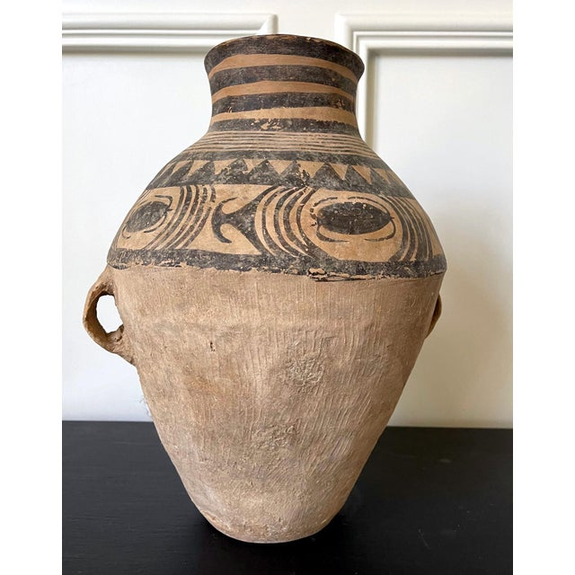 Chinese Neolithic Painted Pottery Jar For Sale - Image 10 of 13