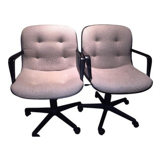 "Vintage ""Pollock and Knoll"" Steelcase Office Chairs - a Pair"