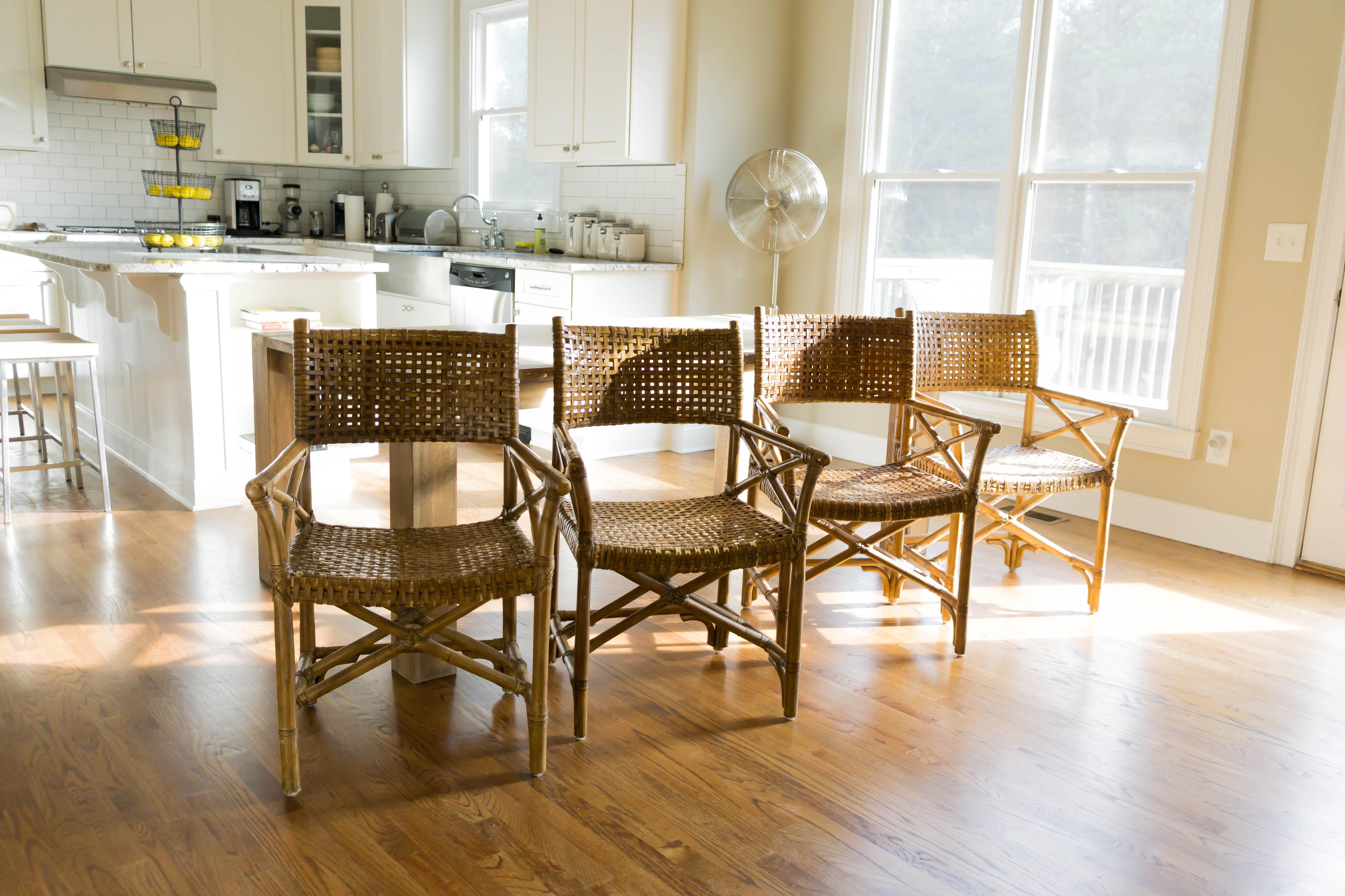 mcguire furniture company laced. McGuire Laced Rawhide Armchairs - Set Of 4 Image 5 6 Mcguire Furniture Company