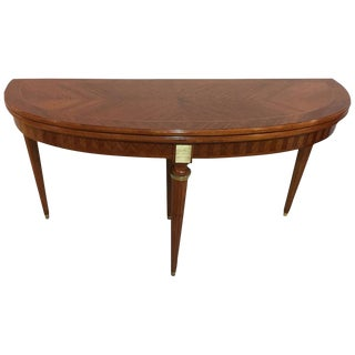 Maison Jansen Demi Lune Console/Dining Table For Sale