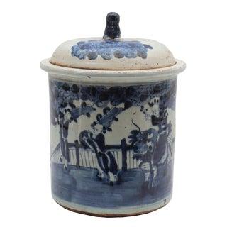 Figures Ceramic Pot For Sale