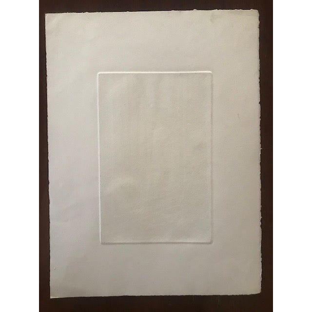 Paper 20th Century Original Signed Letterpress Print on Archival Paper by Joan Corrigan For Sale - Image 7 of 10