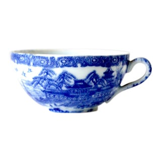 Antique Porcelain Tea Cup For Sale