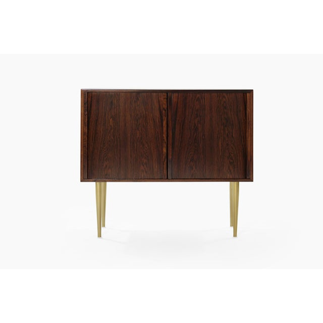 Danish Modern Rosewood Liquor Cabinet, C. 1950s For Sale - Image 10 of 10