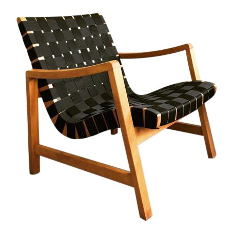 Jens Risom Webbed Lounge Chair - Image 1 of 6