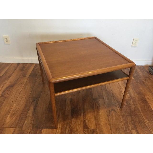Mid-Century Modern T.H. Robsjohn-Gibbings for Widdicomb Square Table For Sale - Image 3 of 10