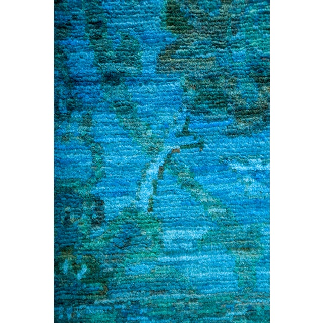"Overdyed Hand-Knotted Rug - 3'1"" x 4'6"" - Image 3 of 3"