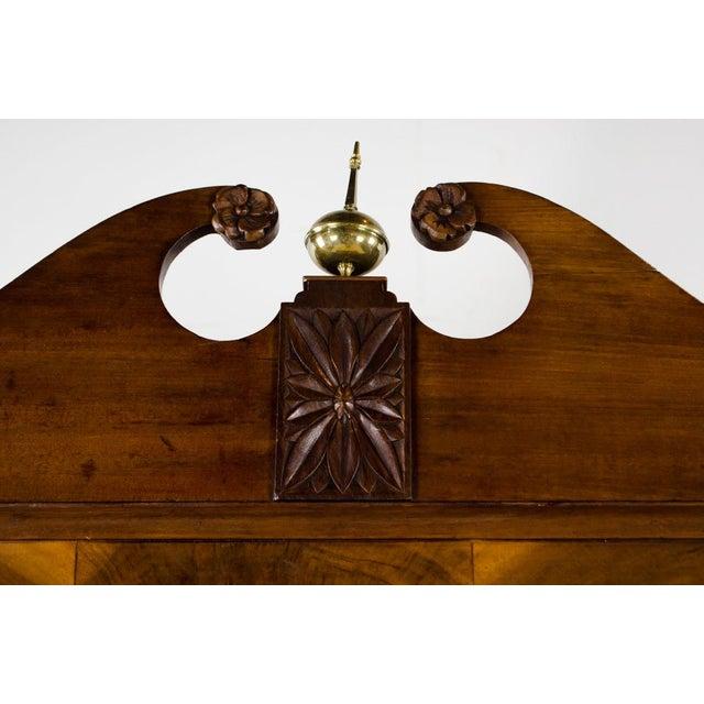 Early 19th Century Antique Regency Secretary Desk For Sale - Image 4 of 13
