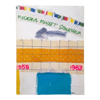 """ Moderna Museet Stockholm 1958 - 1983 "" Rare Vintage 1st Edition 25th Anniversary Collector's Modern Art Book For Sale"