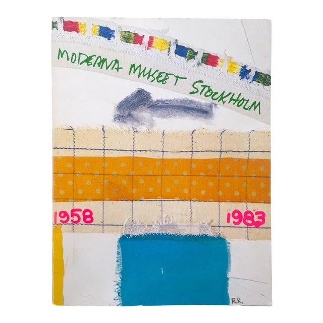 """"""" Moderna Museet Stockholm 1958 - 1983 """" Rare Vintage 1st Edition 25th Anniversary Collector's Modern Art Book For Sale"""