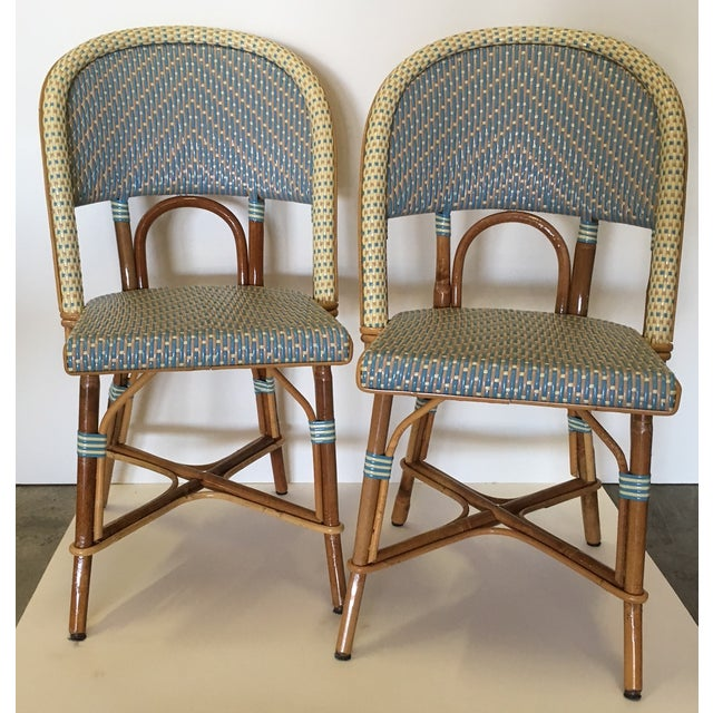 Authentic French Maison Gatti Bistro Chairs - Pair - Image 2 of 7