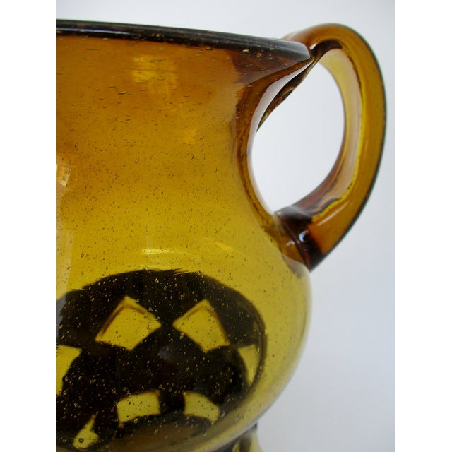 Imprisoned Glass Pitcher For Sale - Image 4 of 7