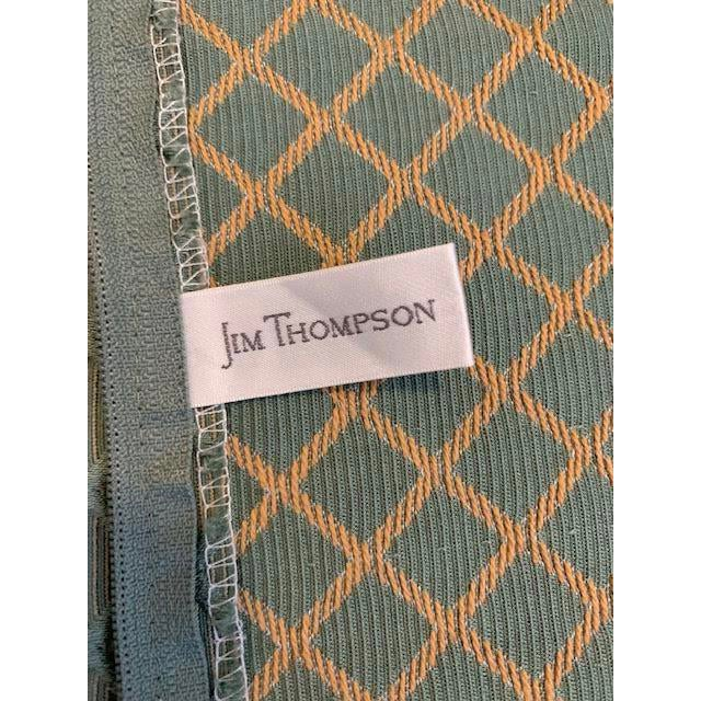 Traditional Jim Thompson Pillow Covers - A Pair For Sale - Image 3 of 6