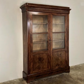 19th Century French Louis Philippe Mahogany Bookcase Preview