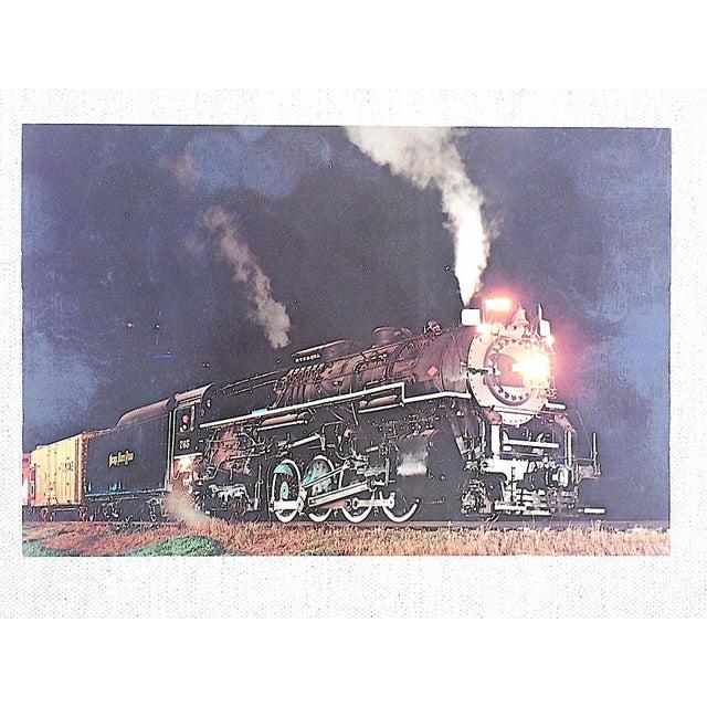 Vintage Railroad Locomotive Photo Postcard - Image 2 of 3