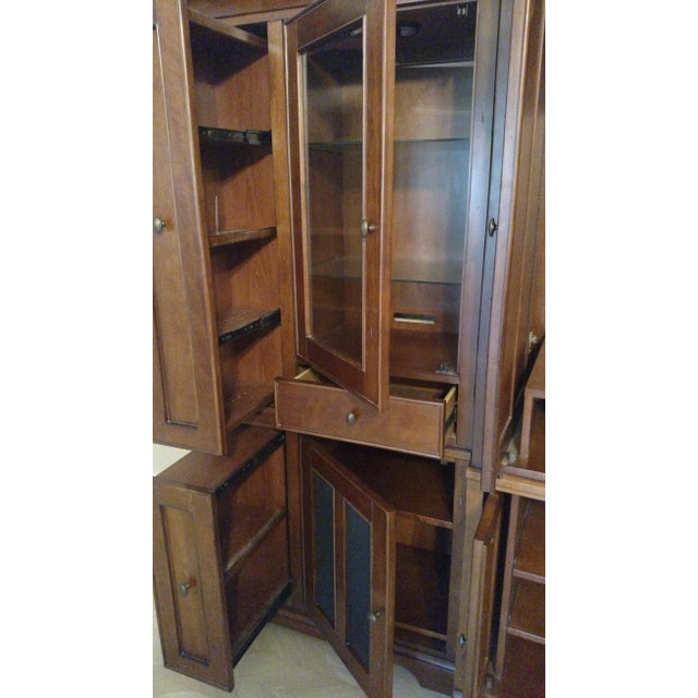 Riverside Furniture Wooden Entertainment Center - Image 4 of 5