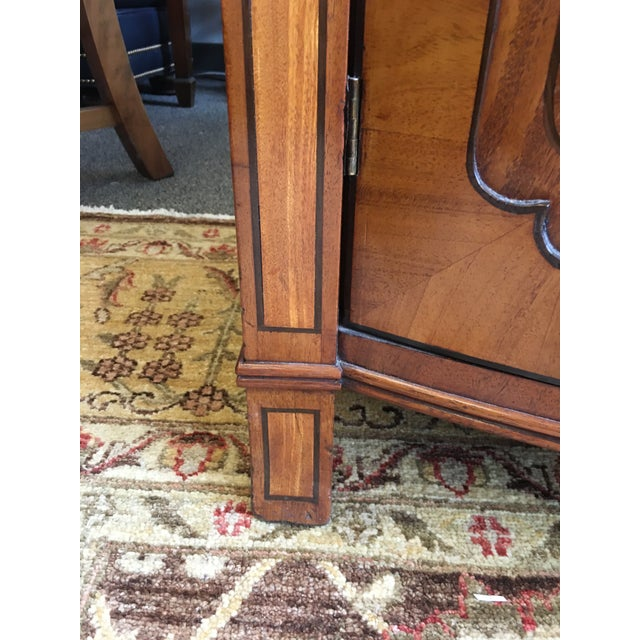 Brown Late 19th Century Antique English Burled Satinwood and Walnut Cabinet For Sale - Image 8 of 9