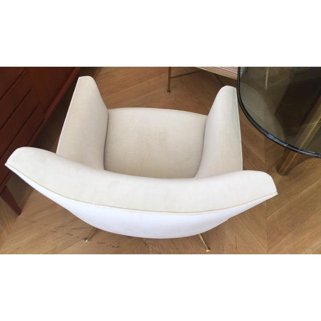 1950s Mid-Century Modern Henry Glass Lounge Armchair For Sale - Image 9 of 10