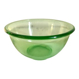 Vintage 1930s Hazel Atlas Mixing Bowl For Sale