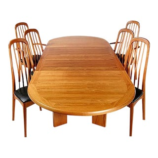 Scandinavian Teak Dining Room Set