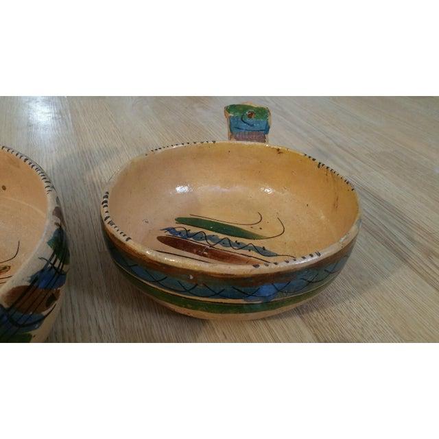 Mexico Tlaquepaque Nesting Chili Bowls - Set of 4 - Image 5 of 8