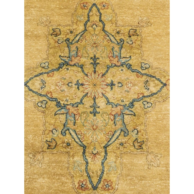 "Handmade Indian Runner Rug - 3'1"" x 11'10"" For Sale - Image 9 of 9"