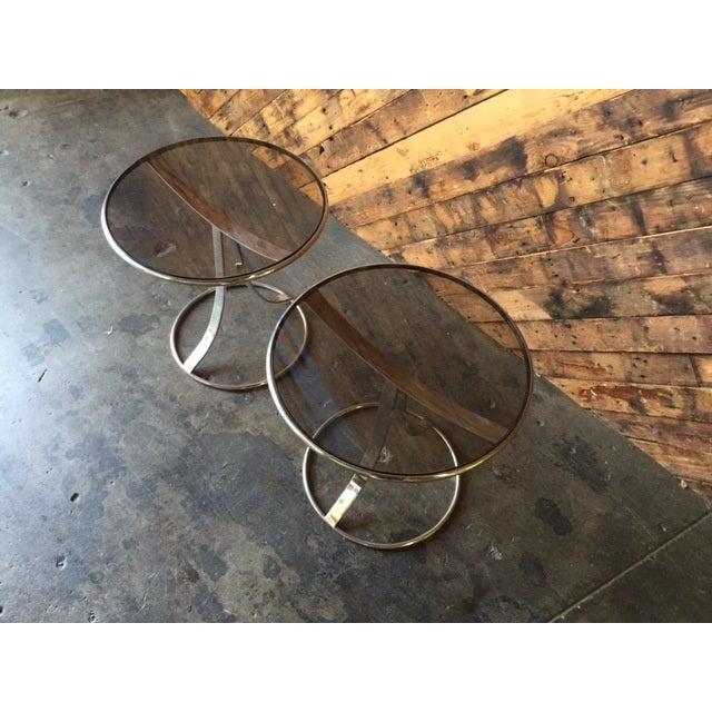 Gardner Leaver for Steelcase Side Tables - Pair - Image 3 of 7
